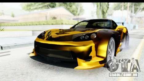 NFS Carbon Chevrolet Corvette para GTA San Andreas
