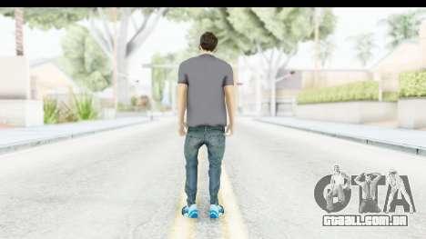 Lionel Messi Casual para GTA San Andreas terceira tela