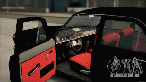 GÁS 24 Nobres para GTA San Andreas vista traseira