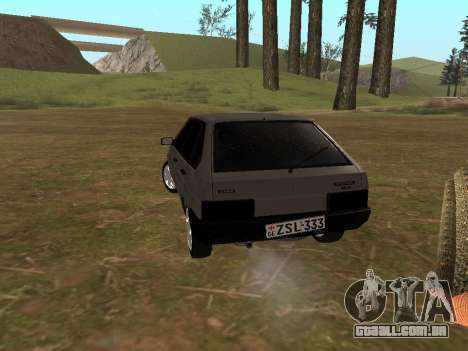 2109 Clássicos para GTA San Andreas esquerda vista
