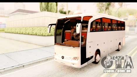 Mercedes-Benz Travego para GTA San Andreas traseira esquerda vista