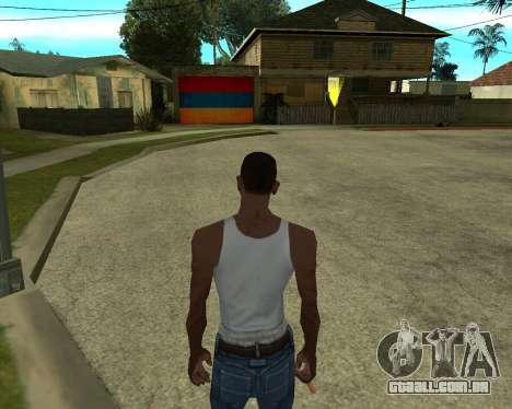 Garagem CJ arménio para GTA San Andreas por diante tela