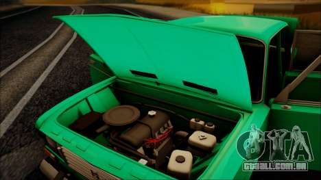 VAZ 2106 Shaherizada GVR para GTA San Andreas vista traseira