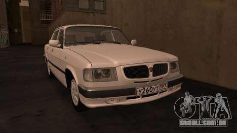 GAZ 3110 da série a Zona de exclusão de Chernoby para GTA San Andreas