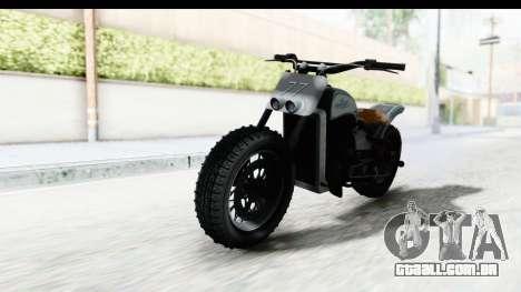 GTA 5 Western Gargoyle Custom v2 para GTA San Andreas vista direita