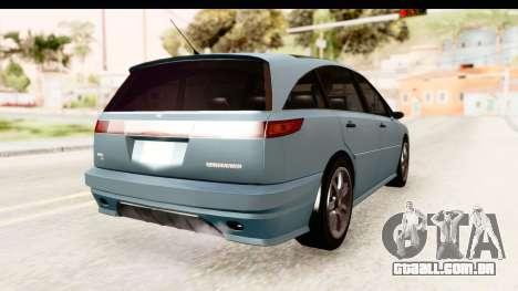 GTA 5 (4) Dinka Perennial IVF para GTA San Andreas traseira esquerda vista