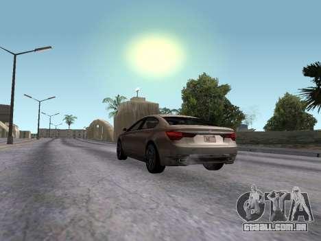 GTA 5 Ubermacht Oracle II para GTA San Andreas esquerda vista