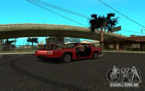 Buffalo (Tunning) para GTA San Andreas traseira esquerda vista