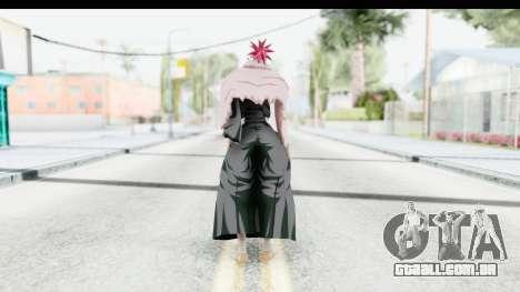 Bleach - Renji B para GTA San Andreas terceira tela