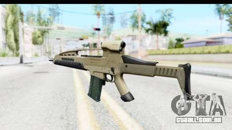 H&K XM8 para GTA San Andreas segunda tela