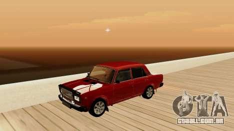 rus_racer ENB v1.0 para GTA San Andreas nono tela