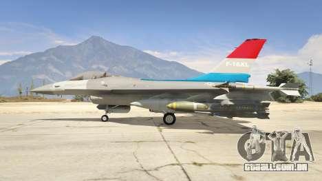F-16XL USA para GTA 5