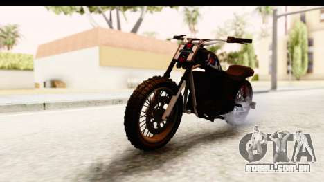 GTA 5 Western Cliffhanger Custom v2 para GTA San Andreas vista direita