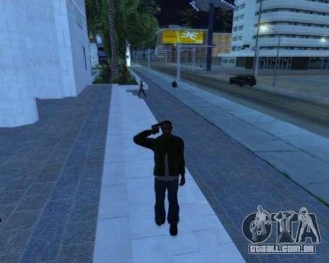 Saudação para GTA San Andreas segunda tela