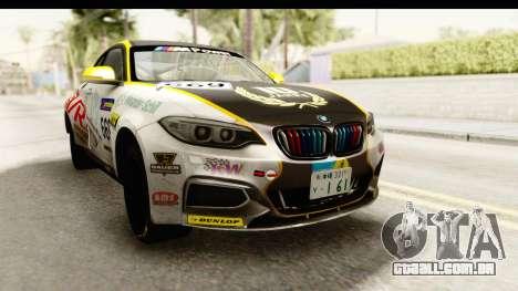 BMW M235i Coupe para GTA San Andreas vista direita