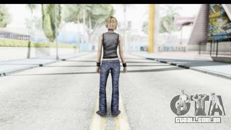 Silent Hill 3 - Heather Sporty Dark Gray Obama para GTA San Andreas terceira tela