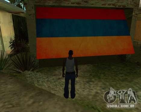 Garagem CJ arménio para GTA San Andreas segunda tela