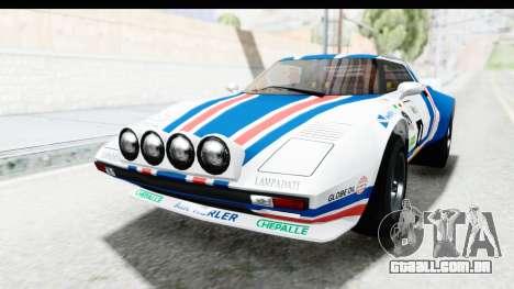GTA 5 Lampadati Tropos SA Lights para vista lateral GTA San Andreas