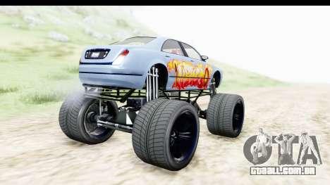 GTA 5 Enus Cognoscenti XL para GTA San Andreas esquerda vista
