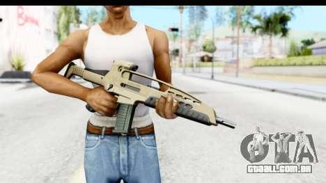 H&K XM8 para GTA San Andreas terceira tela