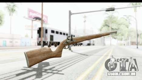 GTA 5 Musket para GTA San Andreas segunda tela