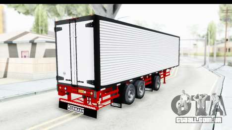 Trailer with Axle para GTA San Andreas esquerda vista