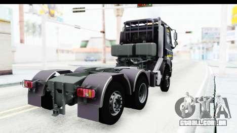 Tatra Phoenix 6x2 Agro Truck v1.0 para GTA San Andreas esquerda vista