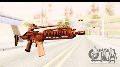 SCAR-LK para GTA San Andreas segunda tela