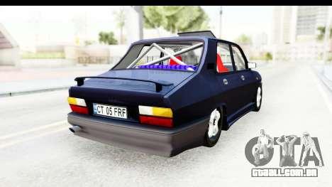 Dacia 1310 Berlina Tunata v2 para GTA San Andreas traseira esquerda vista