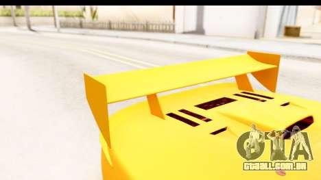 GTA 5 Progen Tyrus SA Style para GTA San Andreas vista superior