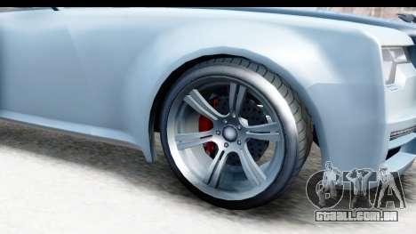 GTA 5 Enus Windsor Drop IVF para GTA San Andreas vista traseira