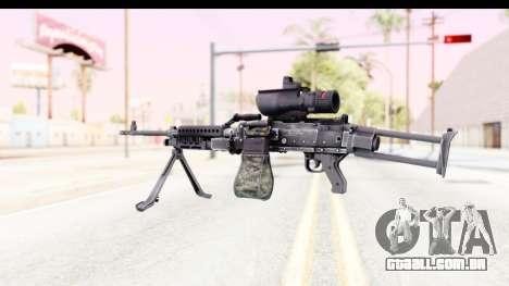 M240 FSK para GTA San Andreas segunda tela
