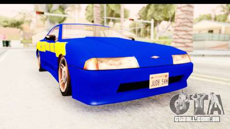 NFSU2 Tutorial Skyline Paintjob for Elegy para GTA San Andreas
