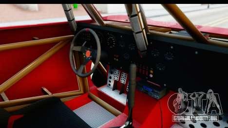GTA 5 Trophy Truck SA Lights para GTA San Andreas vista interior