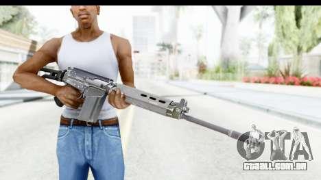 FN-FAL para GTA San Andreas terceira tela