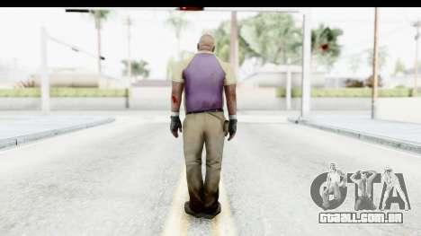 Left 4 Dead 2 - Coach para GTA San Andreas terceira tela