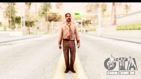 Left 4 Dead 2 - Zombie Pilot para GTA San Andreas segunda tela