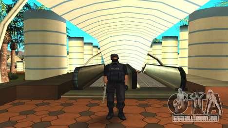 Modificado original pele SWAT para GTA San Andreas