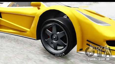 GTA 5 Progen Tyrus IVF para GTA San Andreas vista traseira