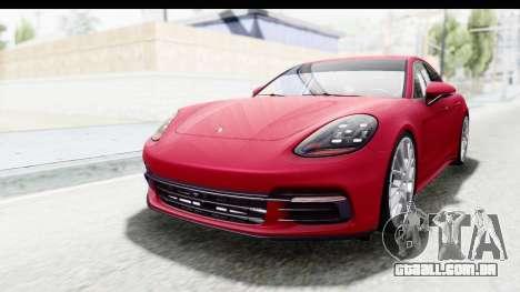 Porsche Panamera 4S 2017 v2 para GTA San Andreas
