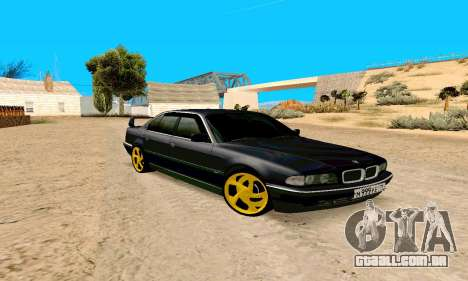 BMW 730 para GTA San Andreas