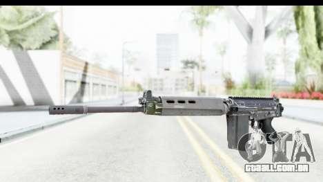 FN-FAL Folded para GTA San Andreas segunda tela