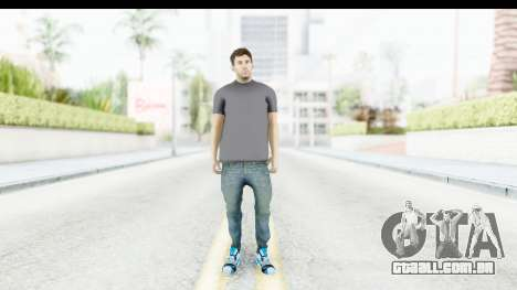 Lionel Messi Casual para GTA San Andreas segunda tela