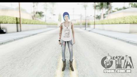 Life is Strange Episode 3 - Chloe Shirt para GTA San Andreas segunda tela