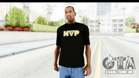 Nike MVP T-Shirt para GTA San Andreas segunda tela