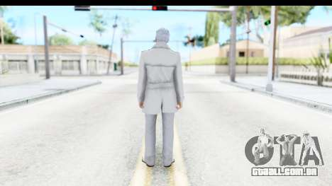 GTA 5 Ill Gotten-Gains DLC Male Skin para GTA San Andreas terceira tela