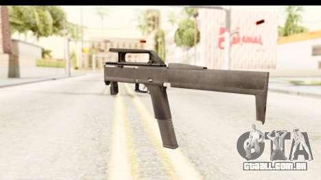 FMG-9 para GTA San Andreas segunda tela