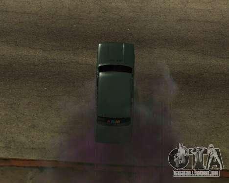 VAZ 2101 Armenian para GTA San Andreas traseira esquerda vista