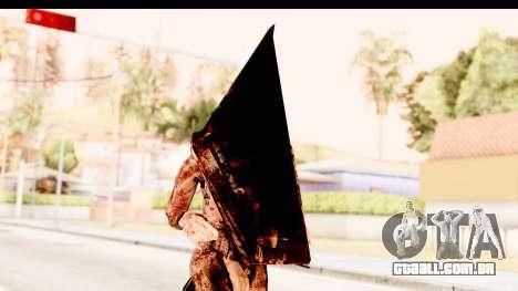 Silent Hill Downpour - Pyramid Head para GTA San Andreas