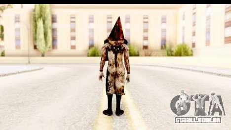 Silent Hill Downpour - Pyramid Head para GTA San Andreas terceira tela